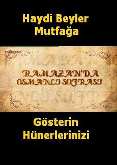 Ramazanda Osmanlı Sofrası