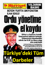 Türkiye'deki Tüm Darbeler